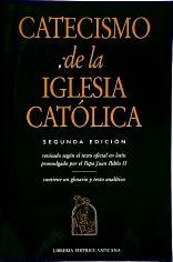 CATECISMO DE LA IGLESIA CATOLICA. Large Paperback Edition.