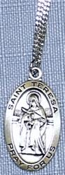 ST. TERESA OF AVILA, PATRONESS OF EDUCATION MEDAL. MVN L500TH.