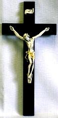 TRADITIONAL CRUCIFIX.  10.25x5 INCHES, NO. 79-28