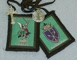 SAINT MICHAEL BROWN SCAPULAR.