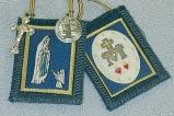IMMACULATE CONCEPTION BLUE SCAPULAR.