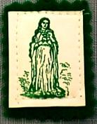 THE GREEN SCAPULAR. non-laminated