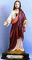 SACRED HEART OF JESUS, 11.5 INCHES.