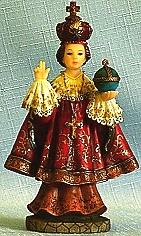 INFANT OF PRAGUE, 5.5 INCHES.