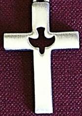 HOLY SPIRIT CROSS MEDAL.  D618C.