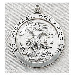 ST MICHAEL MEDAL.  L420MK.