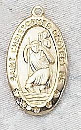 ST CHRISTOPHER MEDAL.  J464.