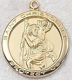 ST CHRISTOPHER MEDAL.  J515CH.