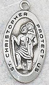 ST CHRISTOPHER MEDAL.  L388.