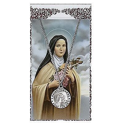 ST. THERESE PRAYER CARD SET.  #PSD600TF.