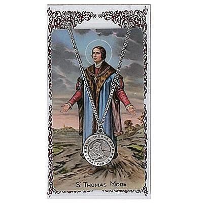ST. THOMAS MORE PRAYER CARD SET.  #PSD600TM.