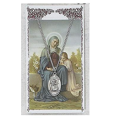 ST. ANNE PRAYER CARD SET.  #PSD500AE.