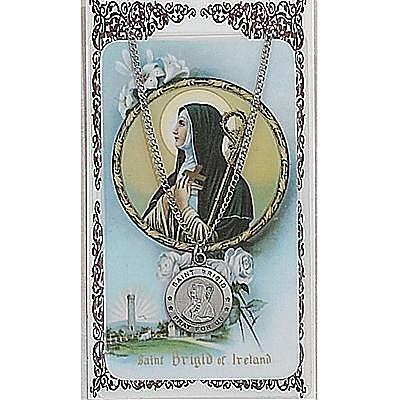 ST BRIGID PRAYER CARD SET.  #PSD600BDG.