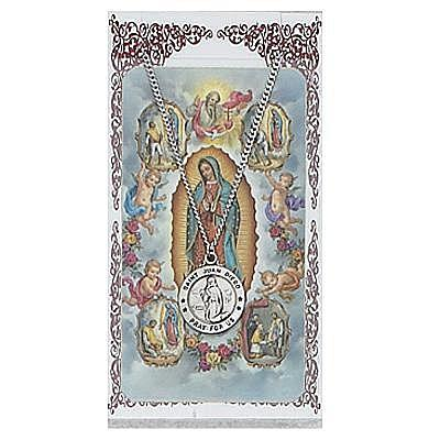 ST JUAN DIEGO PRAYER CARD SET.  #PSD600JD.