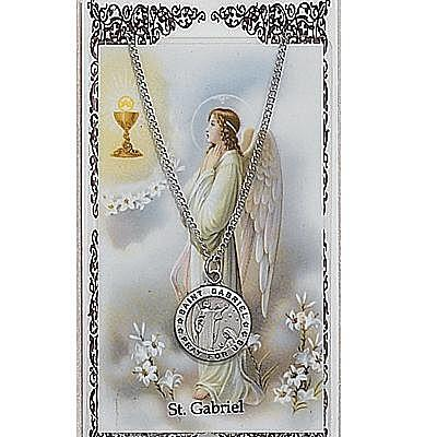 ST GABRIEL PRAYER CARD SET.  #PSD600GB.