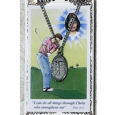 BOYS GOLF PRAYER CARD SET.  #PSD565GL.