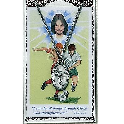 BOYS SOCCER PRAYER CARD SET.  #PSD565SR.