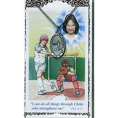 GIRLS SOFTBALL PRAYER CARD SET.  #PSD560SB.