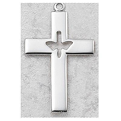 HOLY SPIRIT CROSS.  L6093P.