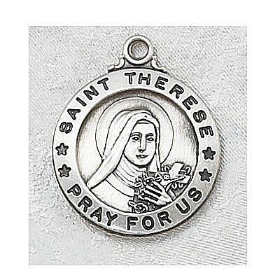 SAINT THERESE MEDAL.  L600TF.