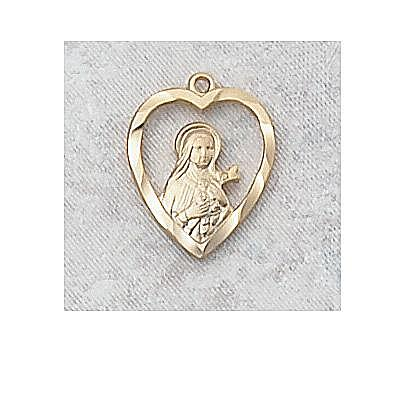SAINT THERESE LITTLE FLOWER MEDAL.  J426TH.