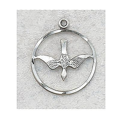 HOLY SPIRIT MEDAL.  L369.
