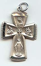 4-WAY CROSS MEDAL.  L341.