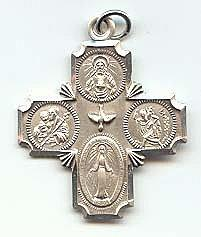 4-WAY CROSS MEDAL.  L411.