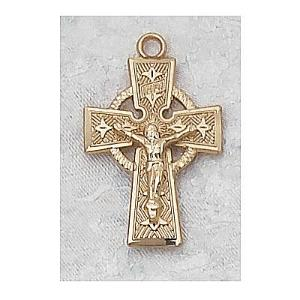 CELTIC CRUCIFIX.  J8084.