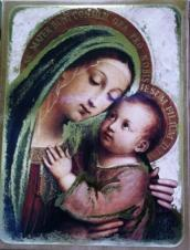 MOTHER OF GOOD COUNSEL AND CHILD JESUS. 2205-43.