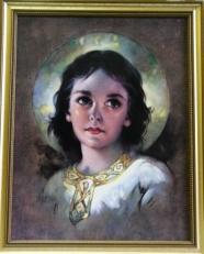 "BOY JESUS ""LIGHT OF THE WORLD' 556-9383."