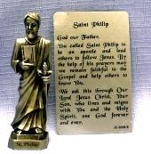 PEWTER STATUE: Saint Philip the Apostle. JC-3058-E.