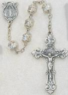 CRYSTAL  ROSARY. 701S-CR/F.