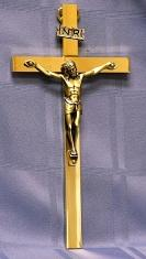 METAL CRUCIFIX. No. 7944