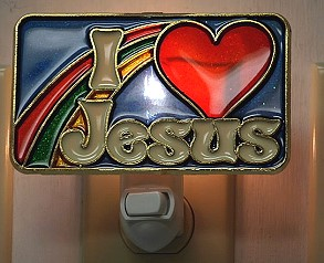 I LOVE JESUS NIGHT-LIGHT