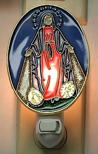 MIRACULOUS MEDAL NIGHT-LIGHT
