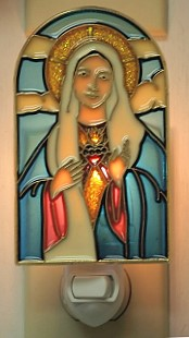 IMMACULATE HEART OF MARY NIGHT-LIGHT