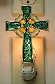 CELTIC CROSS NIGHT-LIGHT