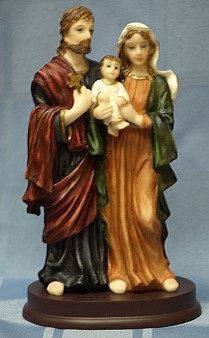 HOLY FAMILY, 8.5 INCHES