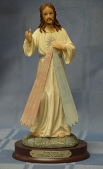 DIVINE MERCY, 8.5 INCHES.