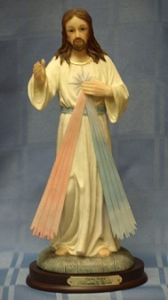 DIVINE MERCY, 11.5 INCHES 61707