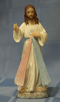 DIVINE MERCY, 5.5 INCHES.