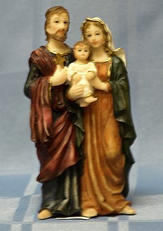 HOLY FAMILY, 5.5 INCHES.
