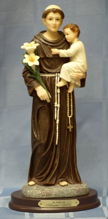SAINT ANTHONY, 11.5 INCH 61709