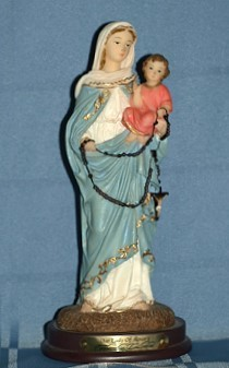 OUR LADY OF THE ROSARY, 8.5 INCHES
