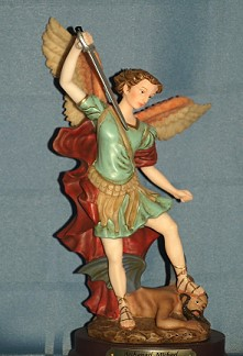 ARCHANGEL MICHAEL, 8.5 INCHES.