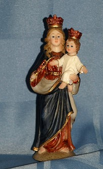 MARY HELP OF CHRISTIANS, 5.5 INCHES.