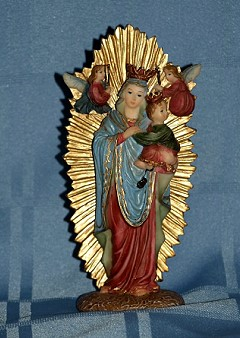 OUR LADY OF PERPETUAL HELP, 5.5 INCHES.