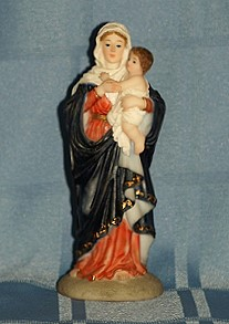 MARY AND JESUS, 5.5 INCHES.
