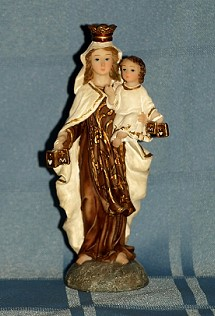 OUR LADY OF MOUNT CARMEL, 5.5 INCHES.